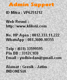 admin support service center vsi yusuf mansur